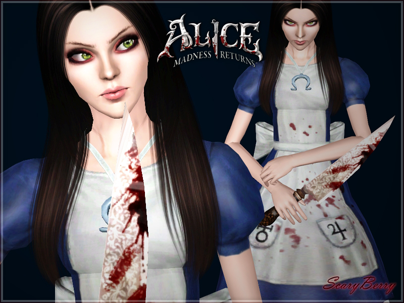 Alice Liddell (Alice Madness Returns) by ScaryBerry