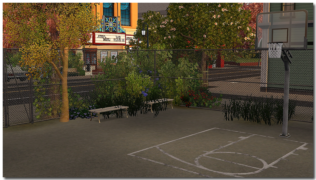 Mel's Basketball Court by Mspoodle1