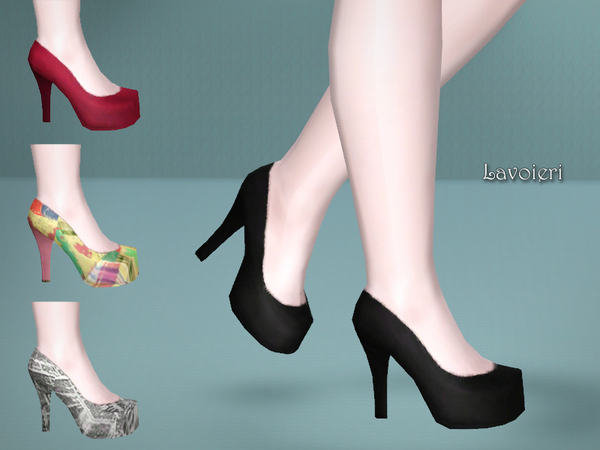Symphony Shoes by Lavoieri
