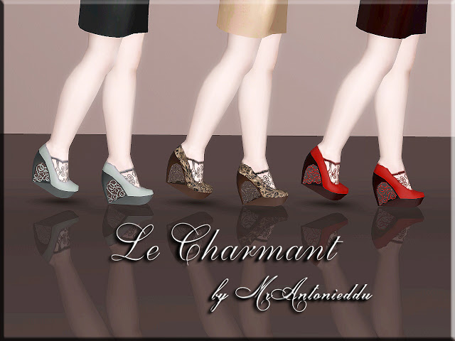 Le Charmant Shoes by MrAntonieddu