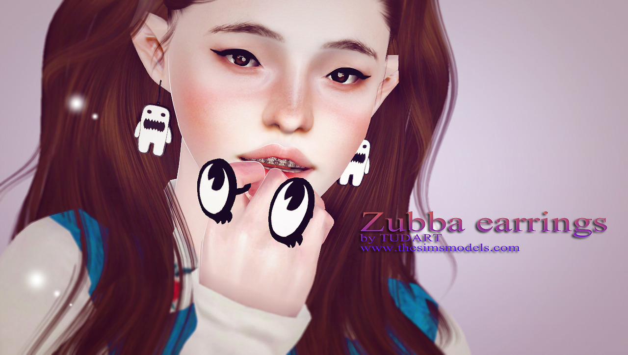 Zubba earrings by TUDART