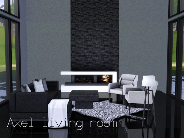 Axel living room by spacesims