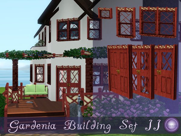 Gardenia Building Set II by D2Diamond