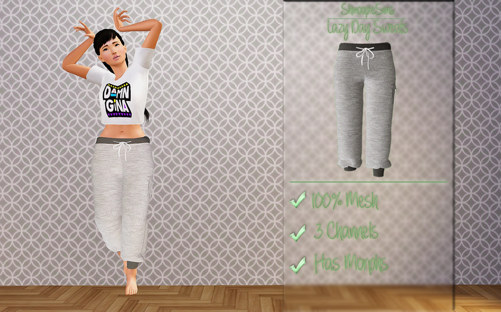 Lazy Day Sweats by Shmoopiesims