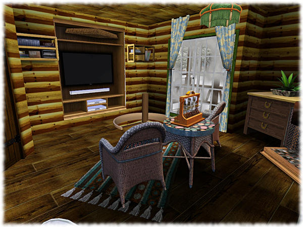 Long cold winter, vacation house by Solny