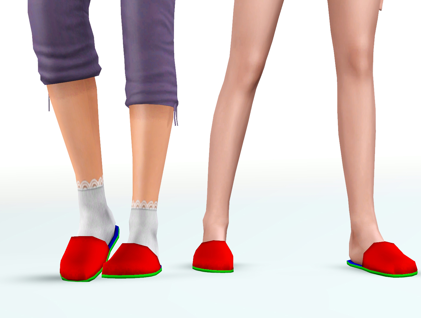 Just Slippers - Plain Slippers for T-A M/F by Pickypikachu