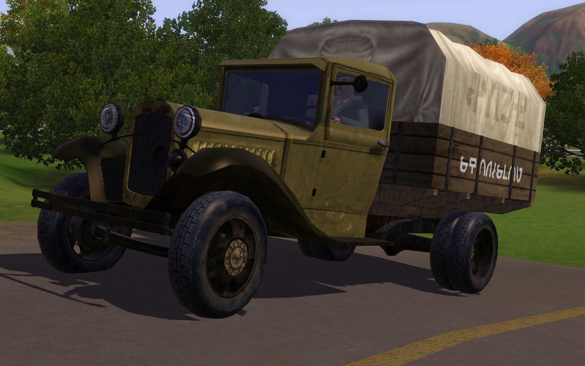 Trucks Ford-AA and GAZ-AA by Stanislav