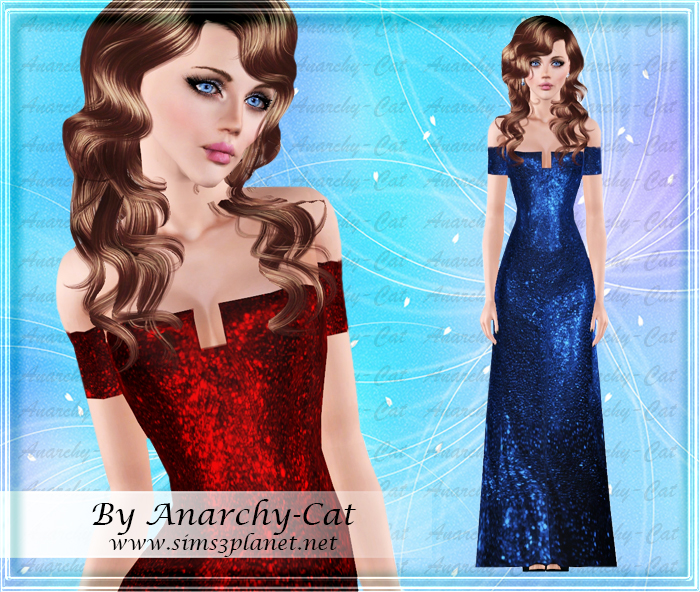 Taylor Swift Blue Dress by Anarchy-Cat