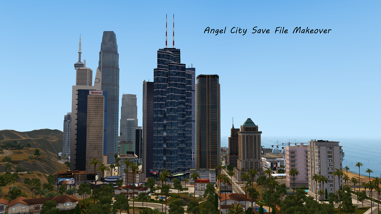 Coasterboi's Angel City Save File Makeover by WoohooJuiceSimoleons