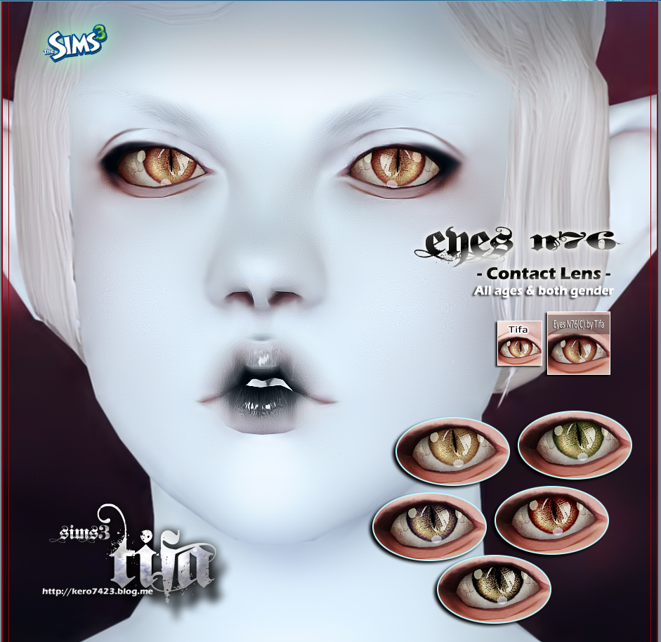 Eyes N76_Contact Lens by Tifa