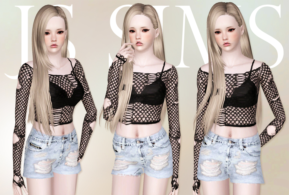 Loose Rripped Knit by JS Sims 3