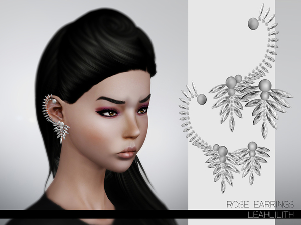 LeahLillith Rose Earrings by Leah Lillith
