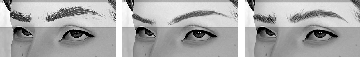 Brow Set #3 by Wundersims