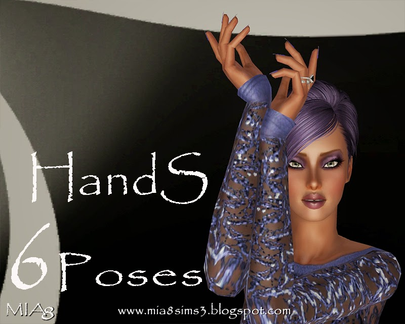 6 Poses HandS by Mia8