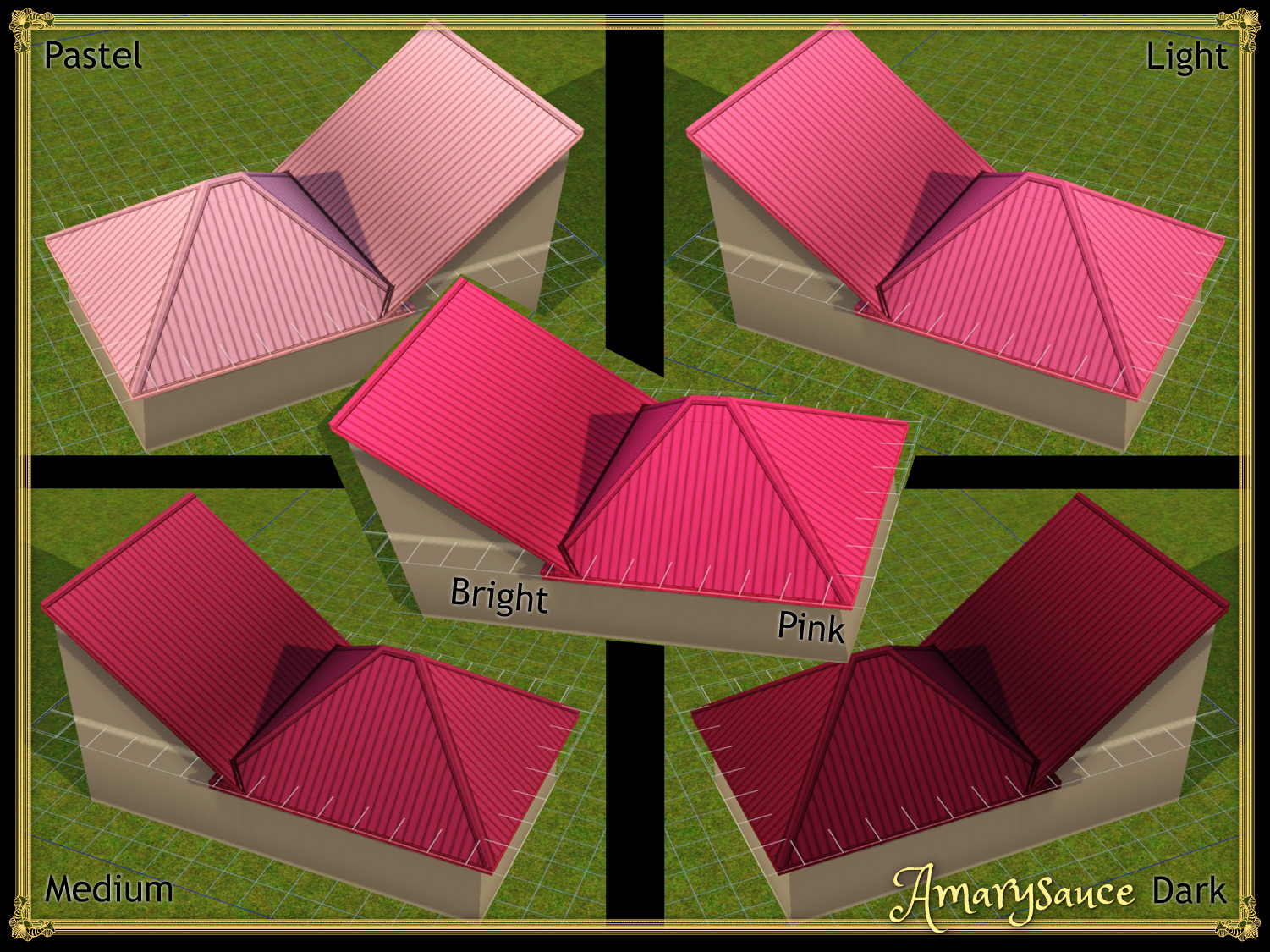 Way Too Many Roof Colours Standing Seam Edition by Amarysauce