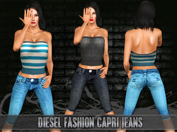 Diesel Fashion Jeans by Saliwa