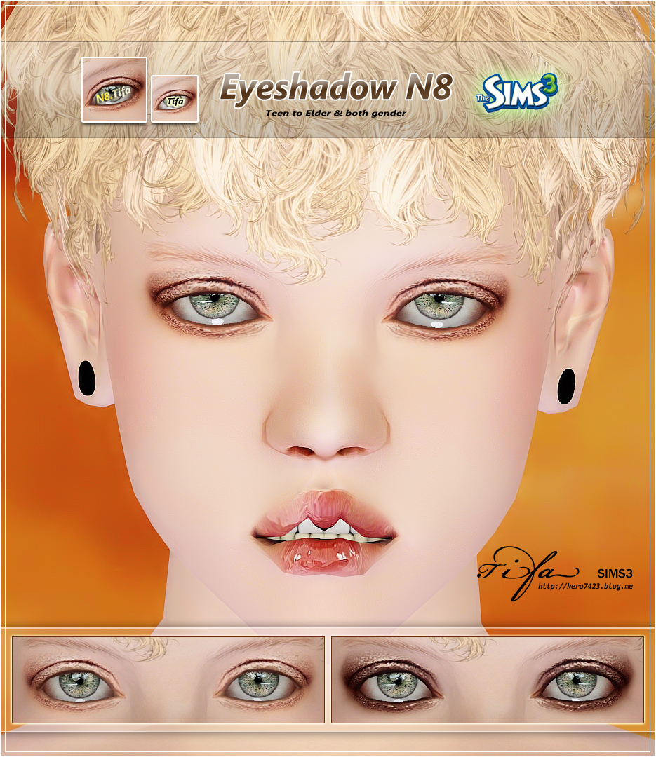 Eyeshadow N8 by Tifa