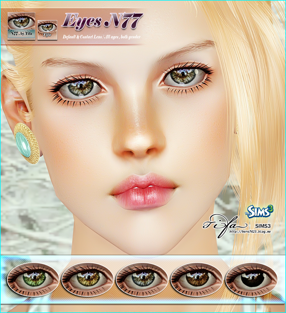 Eyes N77 by Tifa