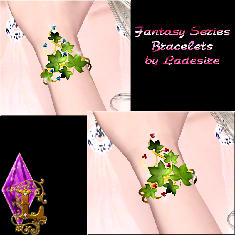 Fantasy Series Bracelets Add-ons by Ladesire