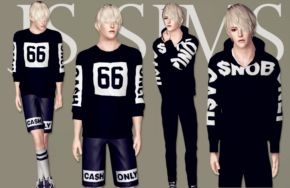 SNOB Clothing Set by JS Sims 3
