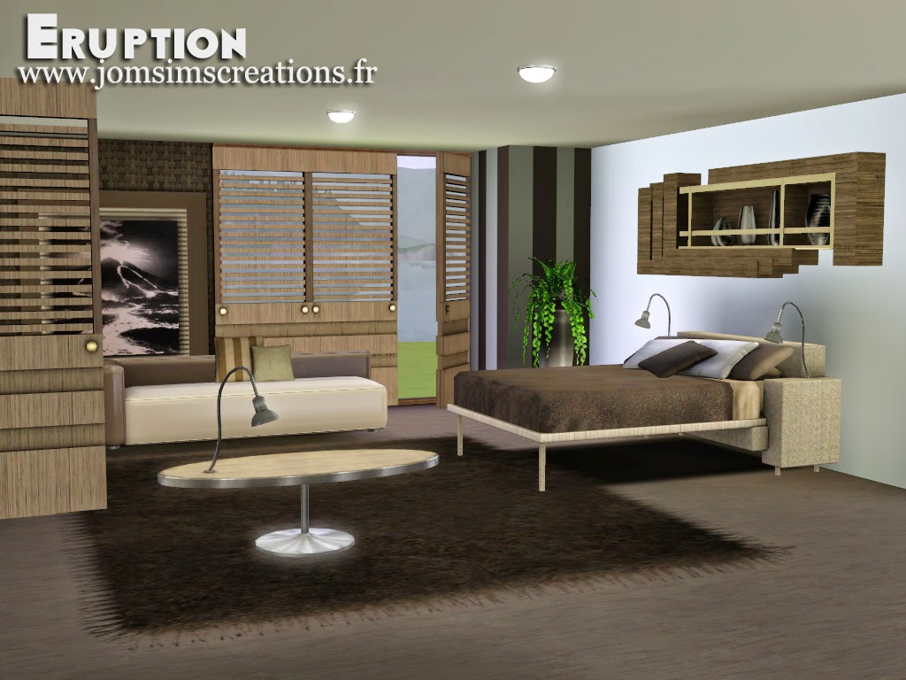 NEW BEDROOM ERUPTION by Jomsims
