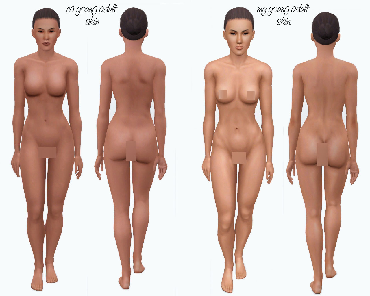 Nude skins for sims2 fucks movie