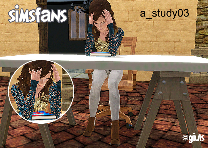 Pose Studying by giuls