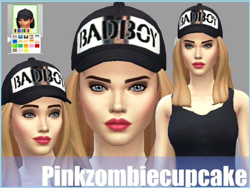 Baseball Caps Set Default by Pinkzombiecupcake