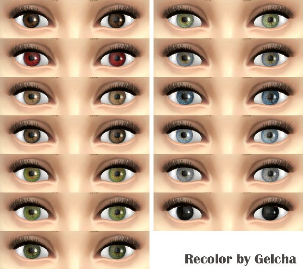 Eye recolor 02 by Gelcha