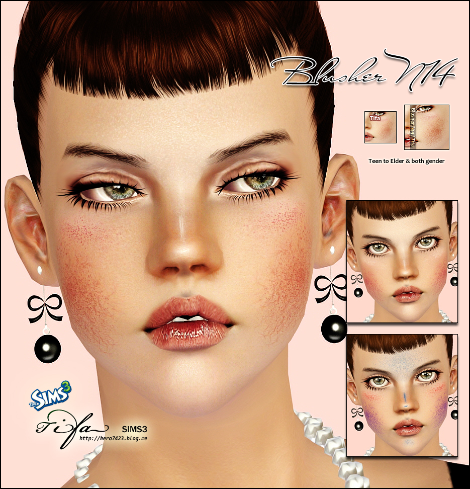 Blusher N14 by Tifa