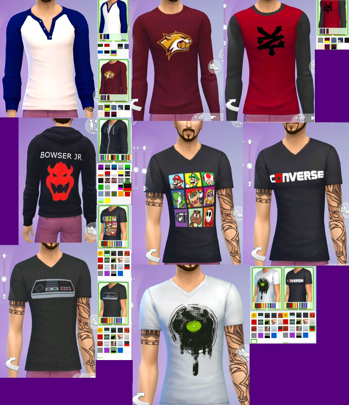Clothes I Own Male Tops by Gothfamilyswag