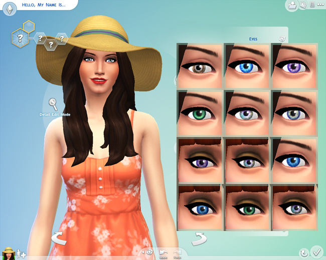 The Sims4 eyes replace by mon_ami