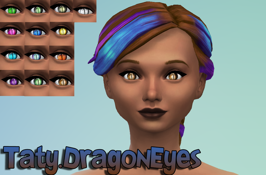Dragon eyes default at Taty