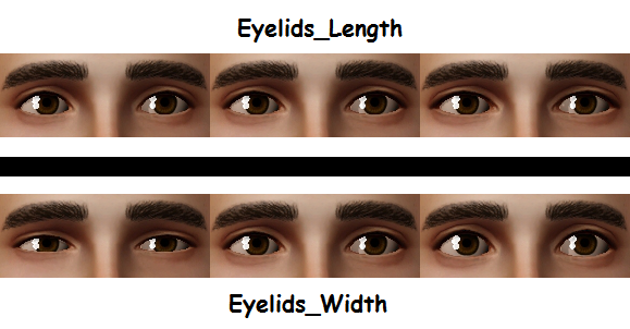 Eyelids Sliders by OneEuroMutt