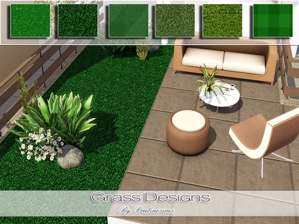 Grass Designs by Pralinesims