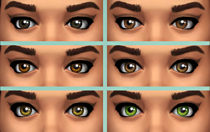 Phobias recolors of Sarhras Eyes conversion by burnt waffles