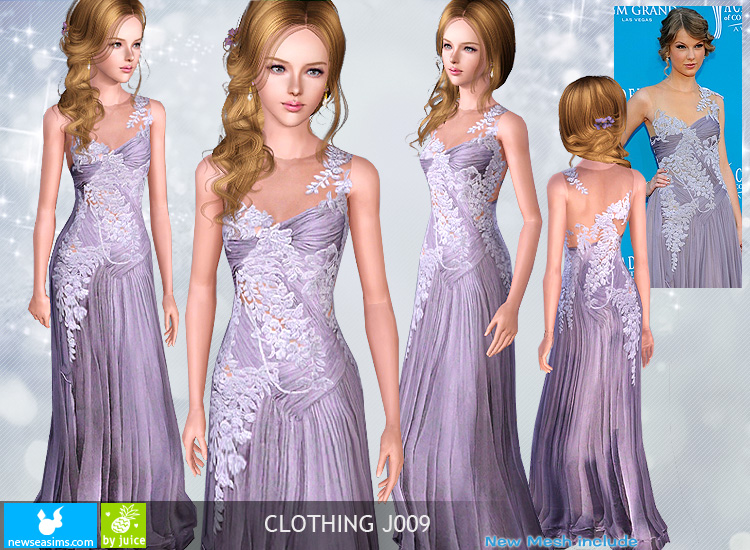 Clothing J009 by Newsea