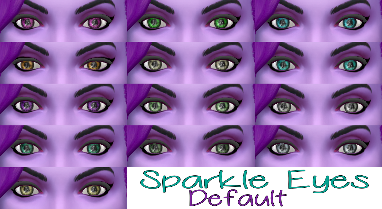 Sparkle Eyes from TS3 to TS4 by Stars Sugary Pixels