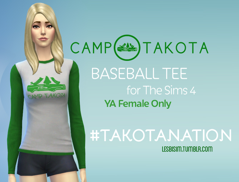 T-Shirt Long CampTakota by lesbisim