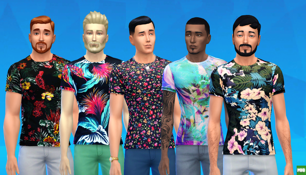 Tropical Shirts Non-default by Mattinsimblrland