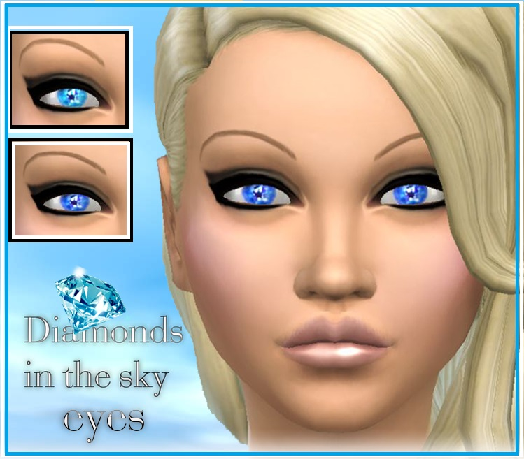 Diamonds in the sky Eyes at Pink Zombie Cupcake