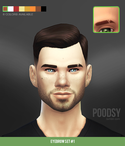 Eyebrows by Poodsy