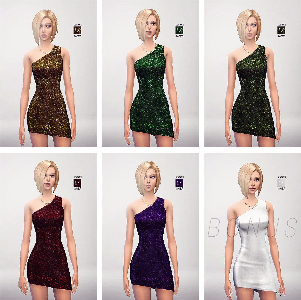 7 Sequin Dresses by Lightsxxx