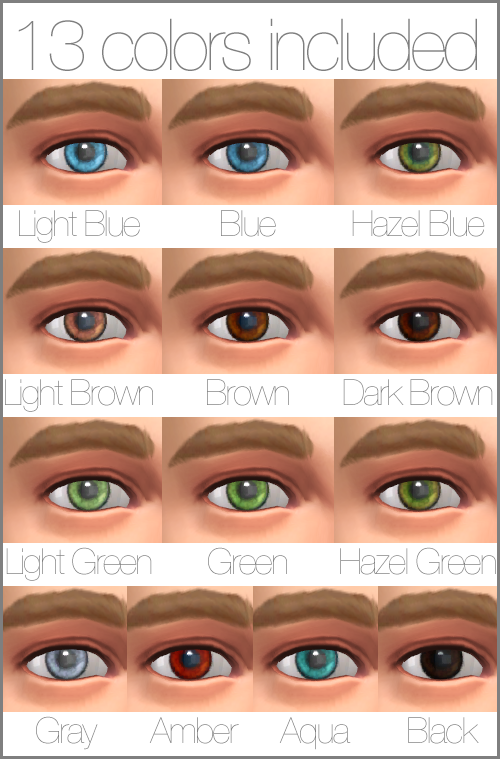 Photorealistics Eyes for The Sims 4 by Аbitofsims
