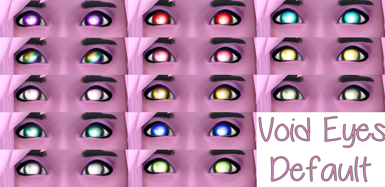 Void Eyes DEFAUL by Starssugarypixels