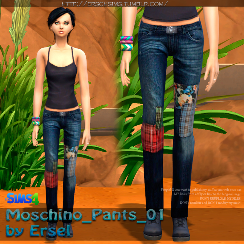 Denim Pants 01 by Ersel