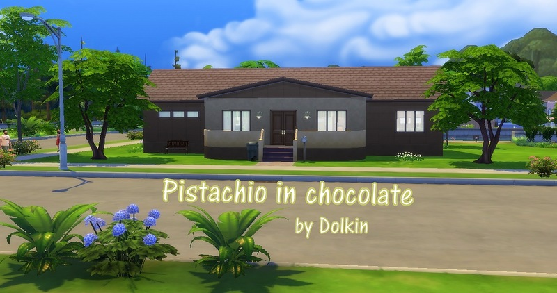 Pistachio in chocolate by Dolkin