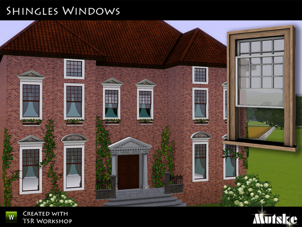 Shingle Windows by mutske
