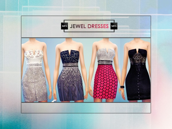 Jewel Dresses by MissFortune