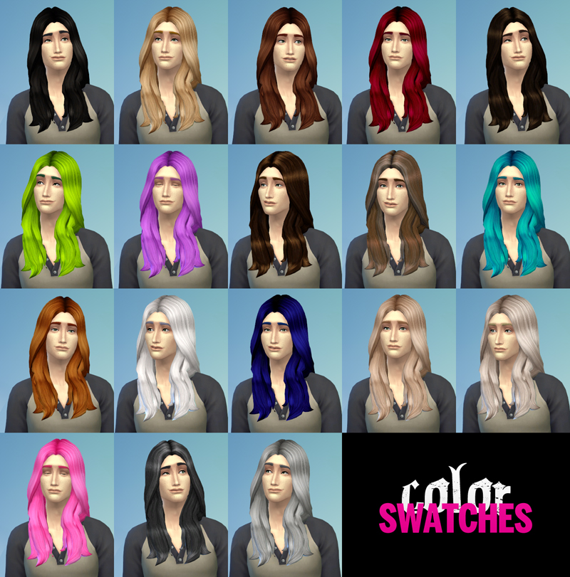 BAD APPLES hair retextures at The Path Of Nevermore